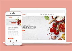 基于html5的美食网站模板