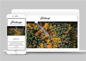 html制作个人旅游博客网站模板