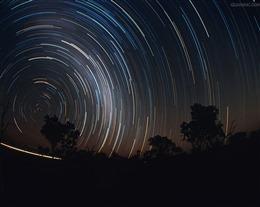 星轨唯美图片