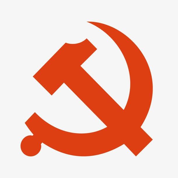 红色党徽png图片