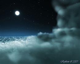 高清唯美夜空图片