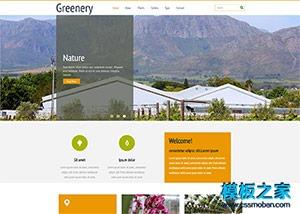 乡村旅游农家乐网站模板