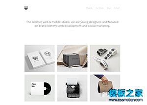 bootstrap设计师作品展示网站