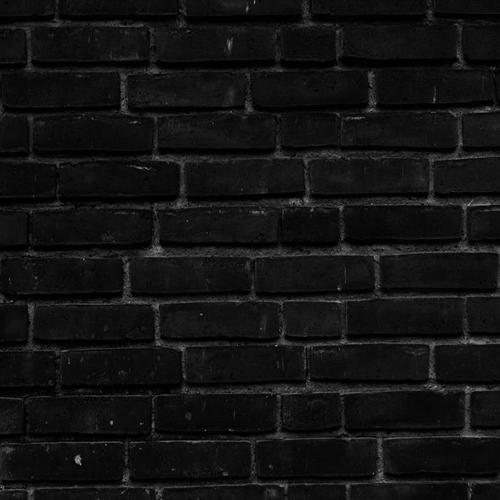 黑色复古墙砖背景图