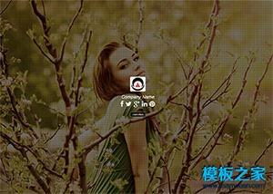 模特摄影企业官网模板