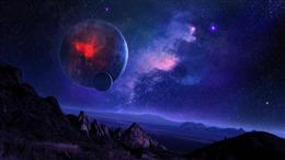 夜晚天空图片