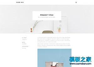 wap菜单工艺品展览网站模板