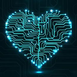 心形电路板图片