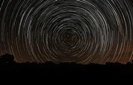 星轨摄影作品图片