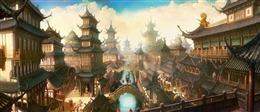 古风京城场景
