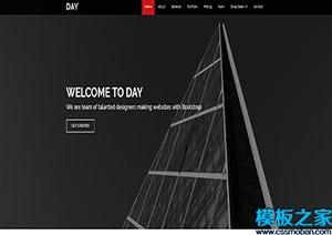 传媒公司首页网站模板