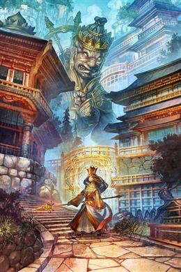 古风仙侠游戏场景图片