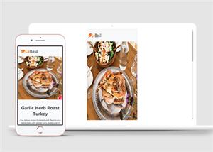 基于html的美食网页设计