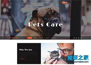 Pets动物爱好者记录博客模板