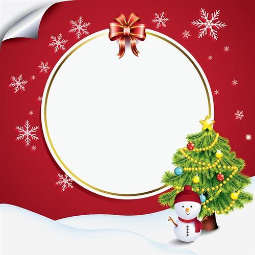 圣诞边框设计