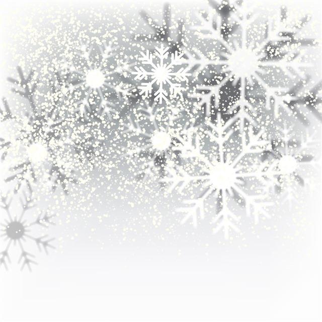 雪花图案装饰边框