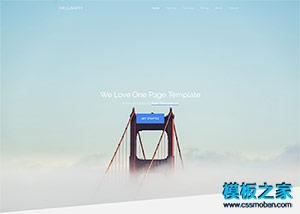 商务服务公司html5网站模板