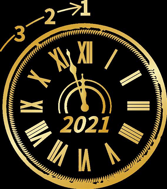 2021跨年倒计时图案
