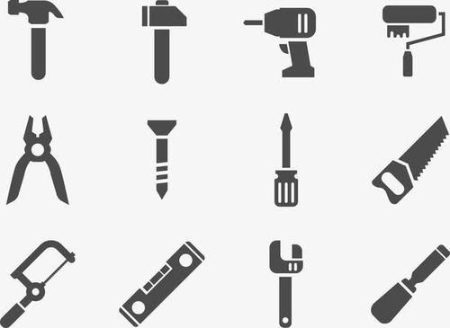 建筑工具图标