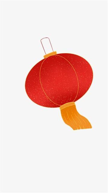 飘逸的红灯笼
