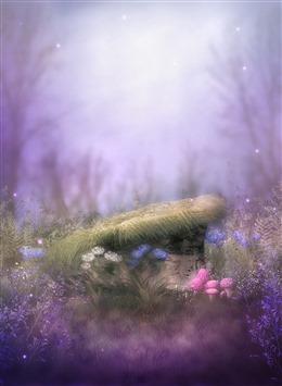紫色系背景图