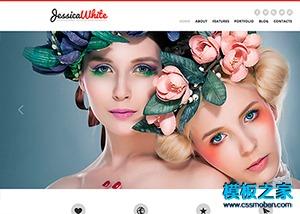 婚纱摄影商业网站模板