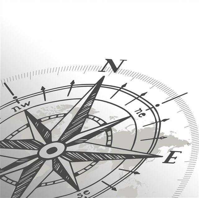 指南针创意图片