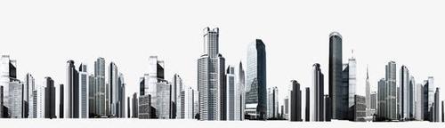 城市高楼建筑免抠图
