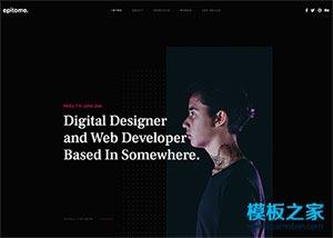Web开发者网站模板