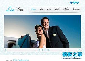 婚纱摄影企业网站模板