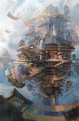 玄幻小说建筑
