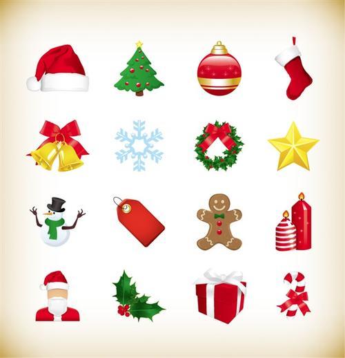 圣诞节创意小图标