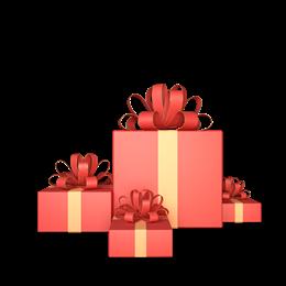 圣诞节立体礼物盒
