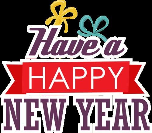 新年快乐英语字体图片