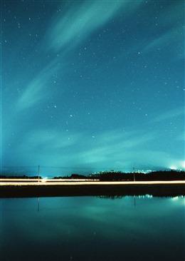 仙气十足的星空背景图