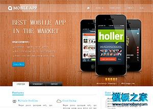 手机APP应用软件网站模板