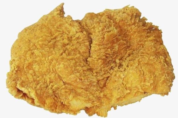 快餐鸡排免抠元素