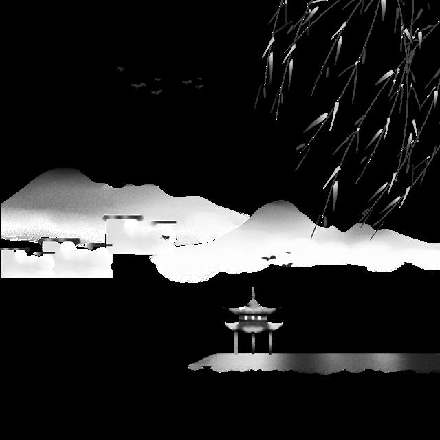 古风山水阁楼