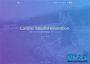 动画UI设计公司网站模板