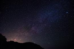银河星空摄影图
