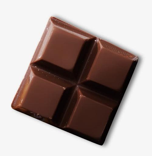 一块巧克力高清实物
