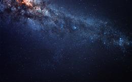天际银河星空图片