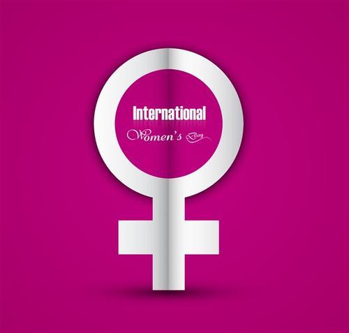 女性符号图案