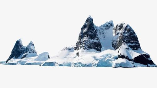 冰山雪峰真实高清图片