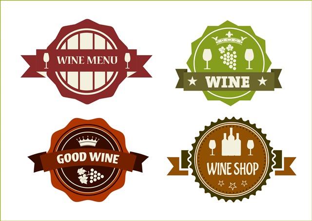 葡萄酒符号标签