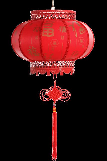 中国春节大红灯笼图片