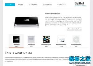 数码电脑网上商城购物网站模板