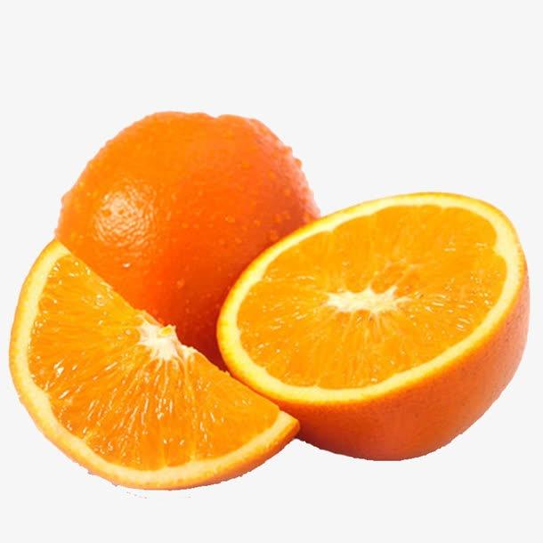 新鲜橙子高清免抠图