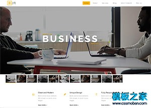 广告设计公司bootstrap网站模板