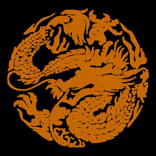 中国盘龙图腾